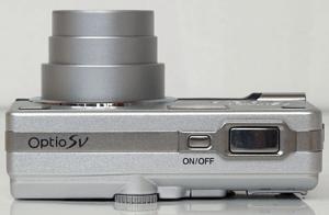 Pentax Optio SV Manual - camera side