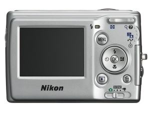 Nikon CoolPix L10 Manual - camera back side