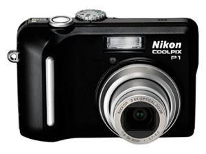 Nikon CoolPix P1 Manual for Nikon Compact Camera with Easy-File Sharing