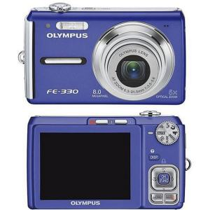 Olympus FE-330 Manual-front and back side