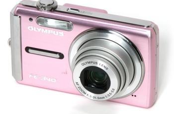 Olympus FE-340 Manual User Guide and Detail Specification