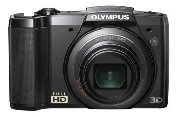 Olympus SZ-20 Manual - camera front side