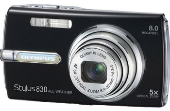 Olympus Stylus 830 Manual - camera front side