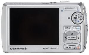 Olympus Stylus 840 Manual - camera back side