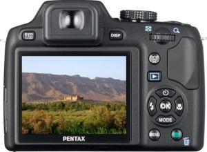 Pentax X70 Manual - camera back side