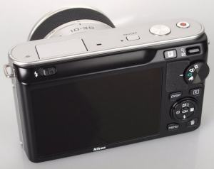 Nikon 1 J1 Manual - camera back side
