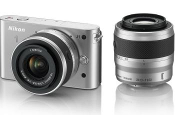 Nikon 1 J1 Manual - camera with lens