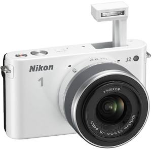 Nikon 1 J2 Manual-camera front face