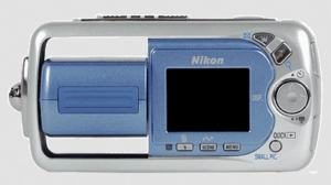 Nikon CoolPix 2500 Manual - camera back side
