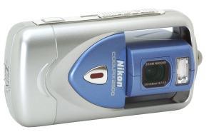 Nikon CoolPix 2500 Manual - camera front face