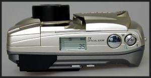 Olympus D-450 Zoom Manual - camera side