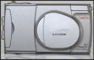 Olympus D-510 Zoom Manual User Guide and Product Specification