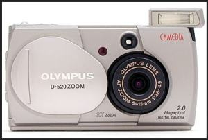 Olympus D-520 Zoom Manual user Guide and Detail Specification