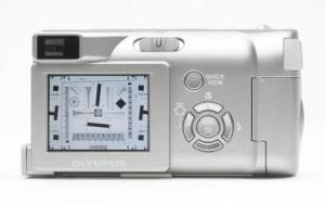 Olympus D-540 Zoom Manual - camera back side