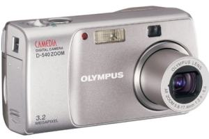 Olympus D-540 Zoom Manual-camera front side