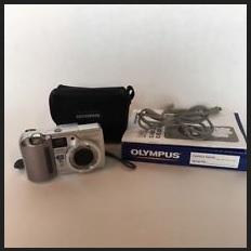 Olympus D-555 Zoom Manual - camera set