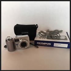 Olympus D-555 Zoom Manual - camera set
