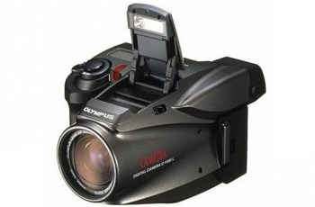 Olympus D-600L Manual - camera front face