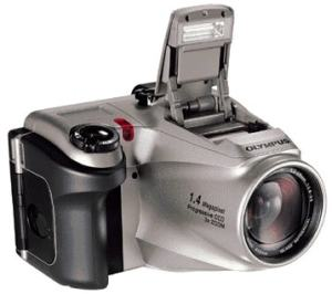 Olympus D-620L Manual - camera front side