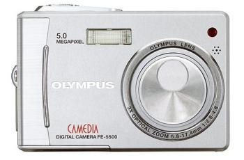 Olympus D-630 Zoom Manual - camera front side