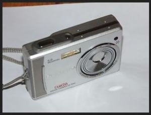 Olympus D-630 Zoom Manual - camera side