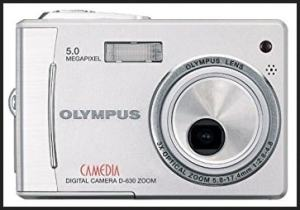 Olympus D-630 Zoom Manual for Olympus Slim-Line Camera with a Twist Lens System