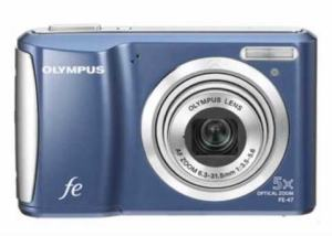 Olympus FE-47 Manual - camera front side