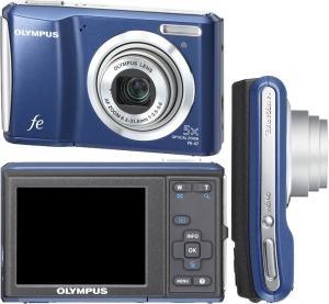 Olympus FE-47 Manual - camera sides
