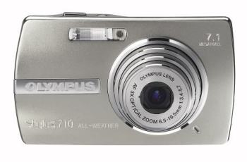 Olympus STYLUS 710 Manual -camera front side