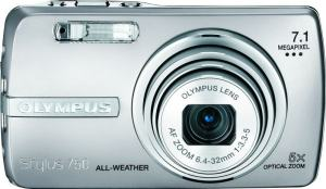 Olympus Stylus 750 Manual-camera front side