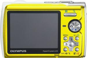 Olympus Stylus 850 SW Manual - camera back side