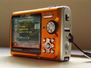 Olympus Stylus 850 SW Manual - camera side