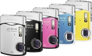 Olympus Stylus 850 SW Manual - camera variants