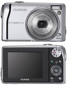 Fujifilm FinePix F40FD Manual User Guide and Camera Specification