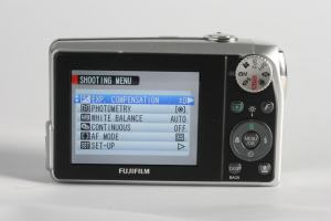 Fujifilm FinePix F40FD Manual - camera back side