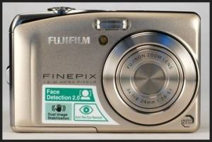 Fujifilm FinePix F50fd Manual - camera front face