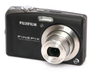 Fujifilm FinePix F60fd Manual - camera front face