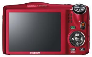 Fujifilm FinePix F800EXR Manual - camera back side
