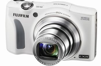 Fujifilm FinePix F850EXR Manual - camera front face