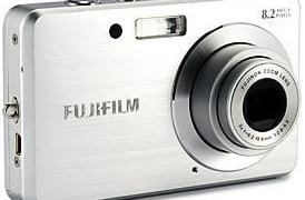 Fujifilm FinePix J10 Manual - camera front side