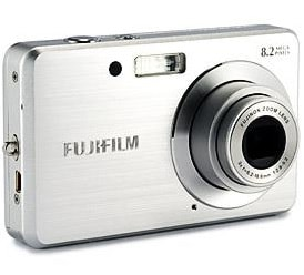 Fujifilm FinePix J10 Manual - camera front side