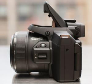 Fujifilm FinePix S1 Manual - camera side