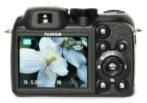 Fujifilm FinePix S1500 Manual - camera back side