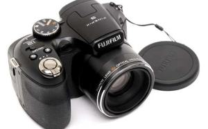 Fujifilm FinePix S1600 Manual - camera front face