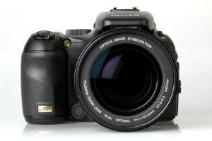 Fujifilm FinePix S200EXR Manual - camera front side
