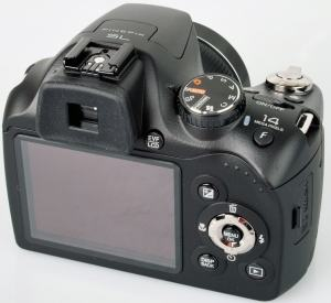 Fujifilm FinePix SL300 Manual - camera back side