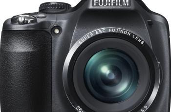 Fujifilm SL260 Manual - camera front side