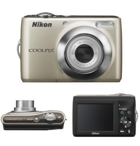 Nikon CoolPix L21 Manual - camera sides