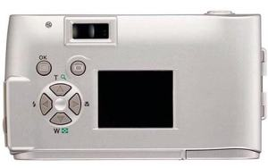 Olympus C-1 Manual - camera back side