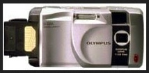 Olympus D-220 L Manual - camera front face